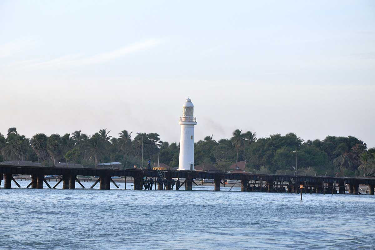Mannar Lighthouse near Palmyrah House