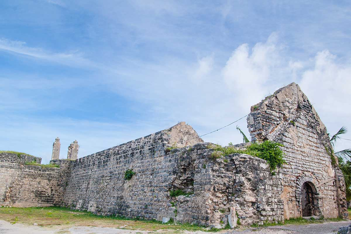 Explore the Mannar Fort Ruins near the Palmyrah House